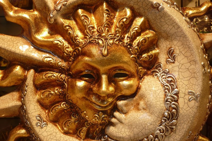 Sun and Moon Mask