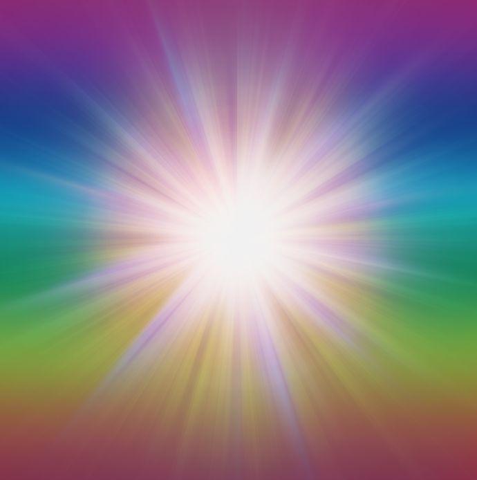 radial Burst of Energy